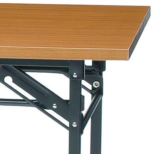 折りたたみテーブル 共貼り KM-1860T W1800×D600×H700(mm)商品画像6
