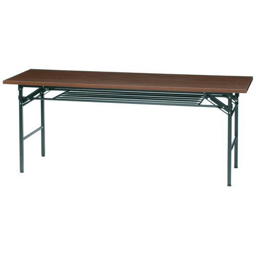 折りたたみテーブル 井上金庫(イノウエ) 共貼り KM-1860T W1800×D600×H700(mm)のメイン画像