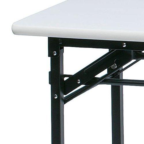 折りたたみテーブル 井上金庫(イノウエ) ソフトエッジ KMS-1845T W1800×D450×H700(mm)商品画像3