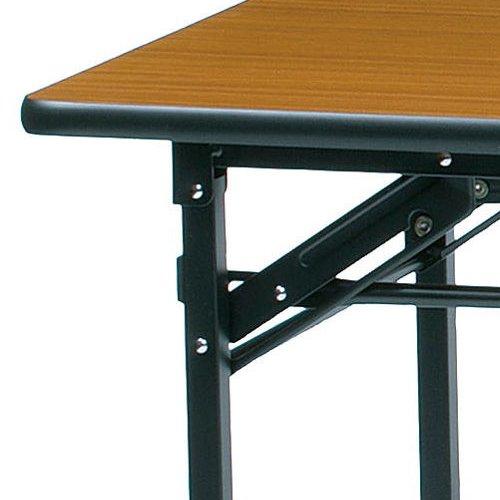 折りたたみテーブル ソフトエッジ KMS-1845T W1800×D450×H700(mm)商品画像4