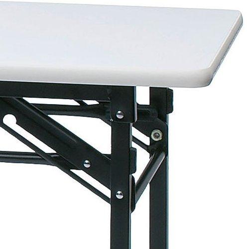 折りたたみテーブル 井上金庫(イノウエ) ソフトエッジ KMS-1845T W1800×D450×H700(mm)商品画像5