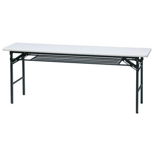 折りたたみテーブル ソフトエッジ KMS-1845T W1800×D450×H700(mm)のメイン画像