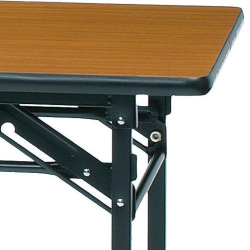 折りたたみテーブル ソフトエッジ KMS-1860T W1800×D600×H700(mm)商品画像5