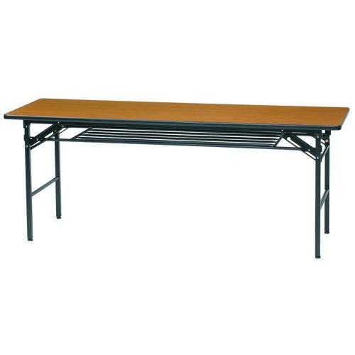折りたたみテーブル ソフトエッジ KMS-1860T W1800×D600×H700(mm)のメイン画像