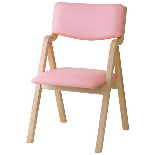 介護椅子 井上金庫(イノウエ) 折りたたみ式 木製チェア KOI-11商品画像3