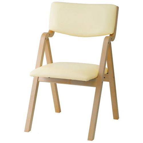 介護椅子 井上金庫(イノウエ) 折りたたみ式 木製チェア KOI-11商品画像4