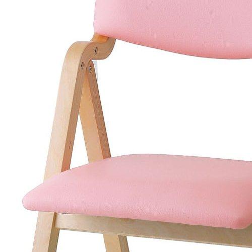介護椅子 井上金庫(イノウエ) 折りたたみ式 木製チェア KOI-11商品画像6