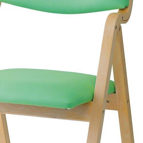 介護椅子 井上金庫(イノウエ) 折りたたみ式 木製チェア KOI-11商品画像8