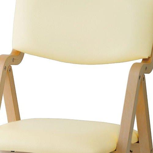 介護椅子 井上金庫(イノウエ) 折りたたみ式 木製チェア KOI-11商品画像9
