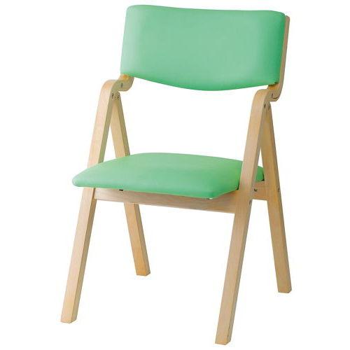 介護椅子 折りたたみ式 木製チェア KOI-11のメイン画像