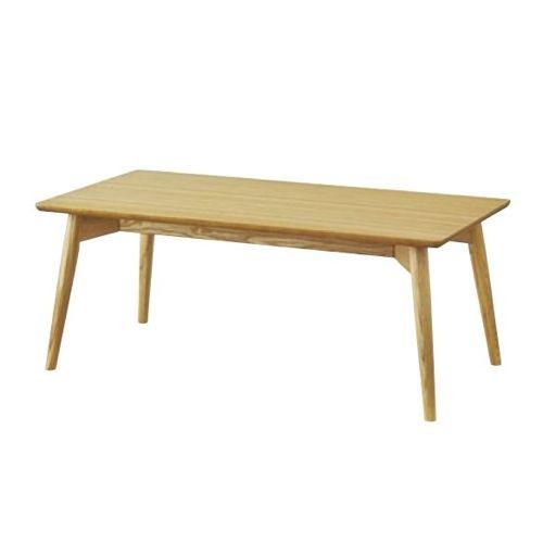 センターテーブル カラメリシリーズ ナチュラルカラー 天然木(アッシュ) W1000×D500×H400(mm)のメイン画像