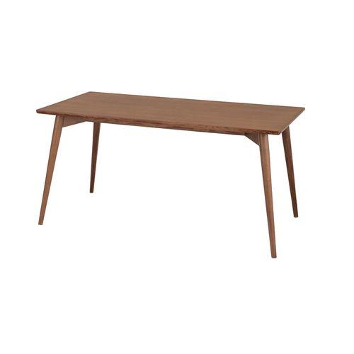 ダイニングテーブル カラメリシリーズ ブラウンカラー 天然木(アッシュ) W1500×D800×H720(mm)のメイン画像