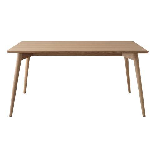 ダイニングテーブル カラメリシリーズ ナチュラルカラー 天然木(アッシュ) W1500×D800×H720(mm)商品画像3