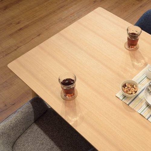 ダイニングテーブル カラメリシリーズ ナチュラルカラー 天然木(アッシュ) W1500×D800×H720(mm)商品画像6