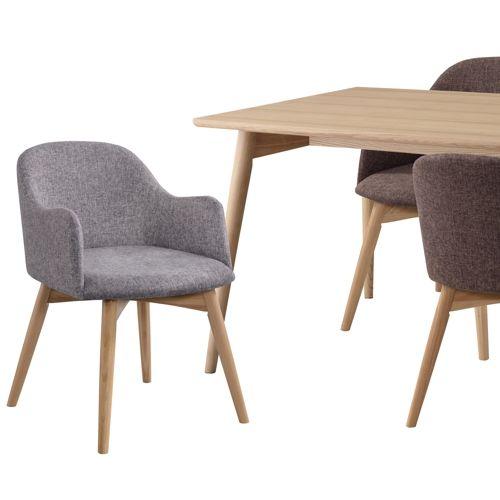 ダイニングテーブル カラメリシリーズ ナチュラルカラー 天然木(アッシュ) W1500×D800×H720(mm)商品画像10
