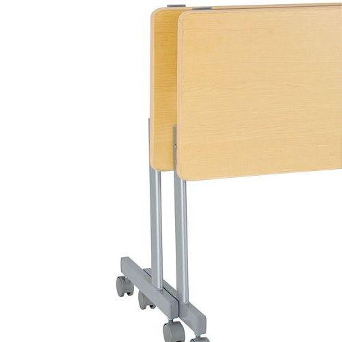 テーブル(会議用) サイドスタックテーブル KS-1560 W1500×D600×H700(mm)商品画像3