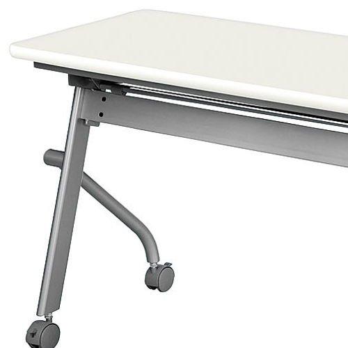 テーブル(会議用) 平行スタックテーブル KSP-1845 W1800×D450×H700(mm)商品画像6