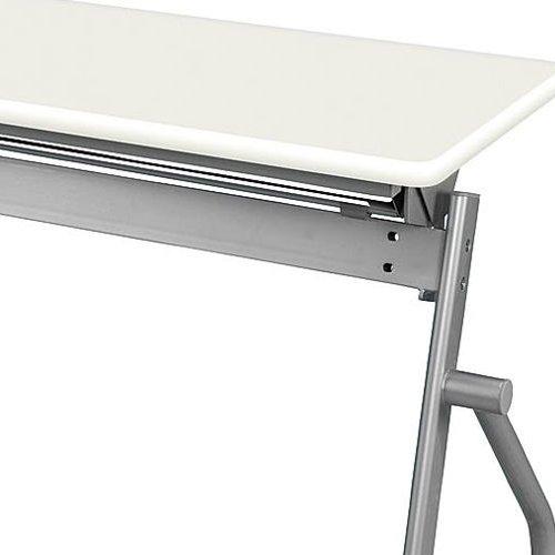 【廃番】テーブル(会議用) 井上金庫(イノウエ) 平行スタックテーブル KSP-1845 W1800×D450×H700(mm)商品画像7