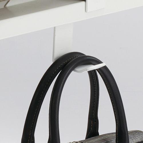 ワークテーブル LPTW-1260 W1200×D600×H720(mm) ホワイトカラー粉体塗装スクエア脚テーブル 幕板付き コードホール付き商品画像7