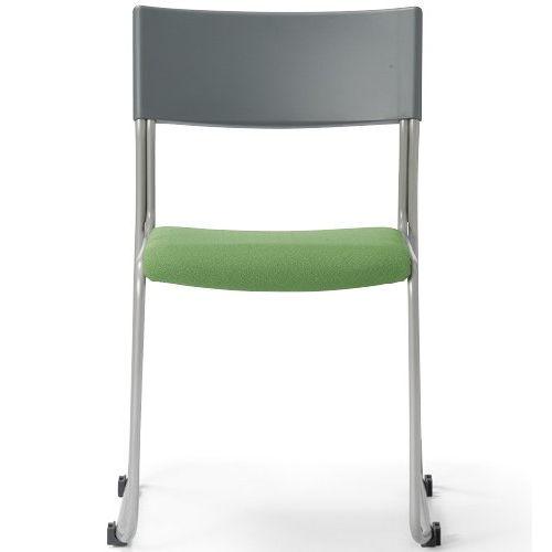 会議椅子 スタッキングチェア MC-131G 連結脚 グレーシェル商品画像2