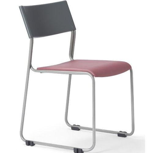 会議椅子 スタッキングチェア MC-131G 連結脚 グレーシェル商品画像3