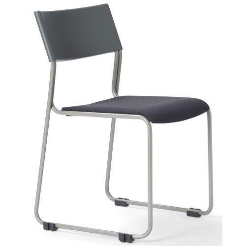 会議椅子 スタッキングチェア MC-131G 連結脚 グレーシェルのメイン画像