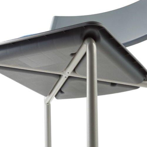 スタッキングチェア 肘なし MC-141G 固定脚 グレーシェル商品画像8