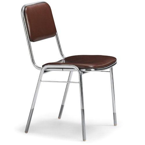 会議椅子 スタッキングチェア MC-2000 固定脚 クロームメッキ 肘なし 商品画像3
