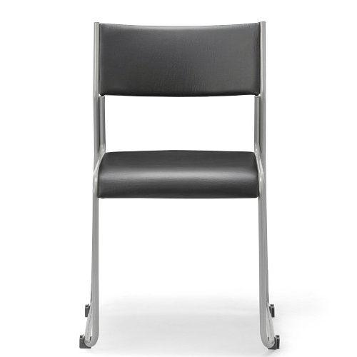 スタッキングチェア MG-T 連結脚 肘なし 粉体塗装商品画像3
