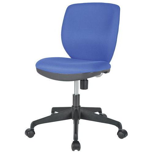 チェア(椅子) 井上金庫(イノウエ) ローバック MOS-22 肘なし商品画像2