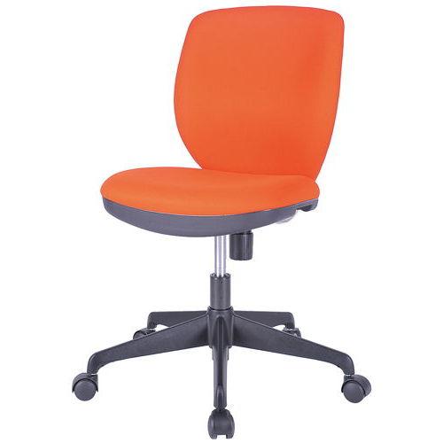 チェア(椅子) 井上金庫(イノウエ) ローバック MOS-22 肘なし商品画像4