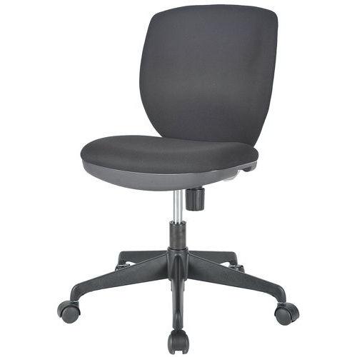 チェア(椅子) 井上金庫(イノウエ) ローバック MOS-22 肘なしのメイン画像