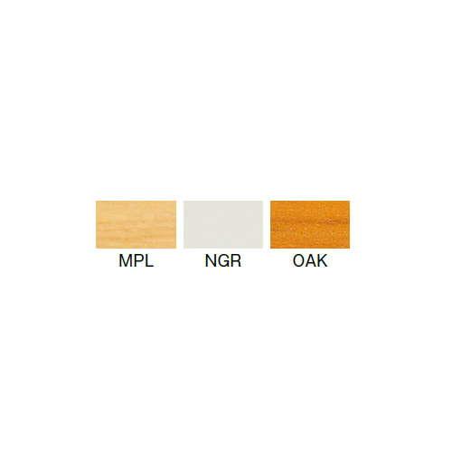 テーブル(会議用) アイコ 2本固定脚 MT-1890K W1800×D900×H700(mm) 角形天板 クロームメッキ商品画像2