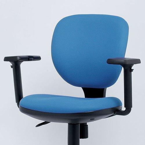 チェア(椅子) T型可動肘 MT01 イノウエ(井上金庫)製チェア用共通肘 2個セット(1脚分)商品画像3