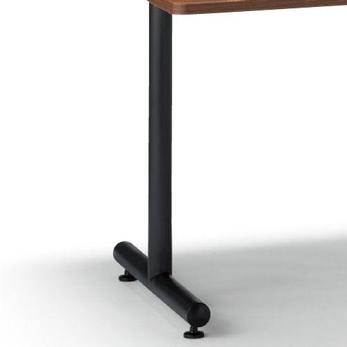 会議用テーブル 2本T字脚テーブル MTB-1890 W1800×D900×H700(mm) ブラックカラー脚商品画像4