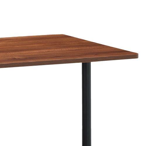 会議用テーブル 2本T字脚テーブル MTB-1890 W1800×D900×H700(mm) ブラックカラー脚商品画像5