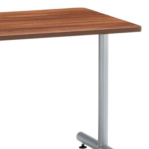 会議用テーブル 2本T字脚テーブル MTS-1275 W1200×D750×H700(mm) シルバーカラー脚商品画像6