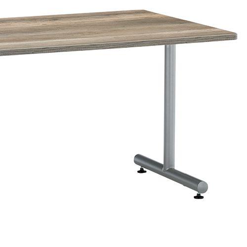 会議用テーブル 2本T字脚テーブル MTS-1890 W1800×D900×H700(mm) シルバーカラー脚商品画像6