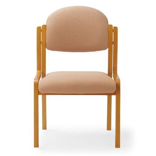 【廃番】介護椅子 アイコ 丸背 木製チェア MW-321 肘なし商品画像4