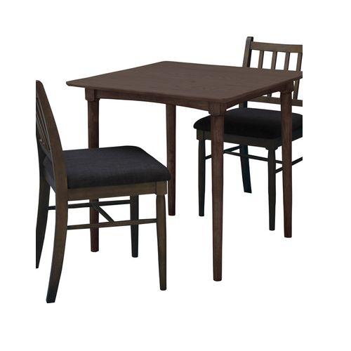 ダイニングテーブル 正方形天板 750角 W750×D750×H700(mm) オーク材突板商品画像4