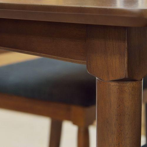 ダイニングテーブル 正方形天板 750角 W750×D750×H700(mm) オーク材突板商品画像6