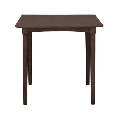 ダイニングテーブル 正方形天板 750角 W750×D750×H700(mm) オーク材突板のメイン画像