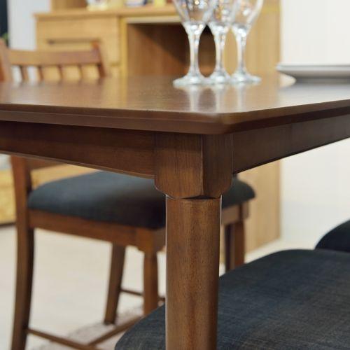 ダイニングテーブル W1200×D750×H700(mm) オーク材突板商品画像6