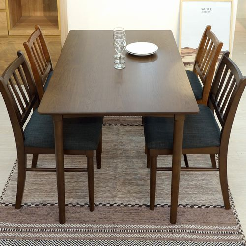 ダイニングテーブル W1200×D750×H700(mm) オーク材突板商品画像8