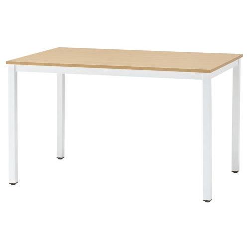 テーブル(会議用) 井上金庫(イノウエ) 4本脚 NFT-1275 W1200×D750×H720(mm)のメイン画像