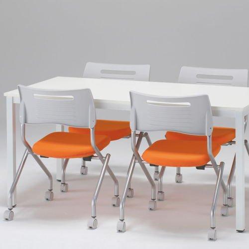 テーブル(会議用) 4本脚 NFT-1890 W1800×D900×H720(mm)商品画像4