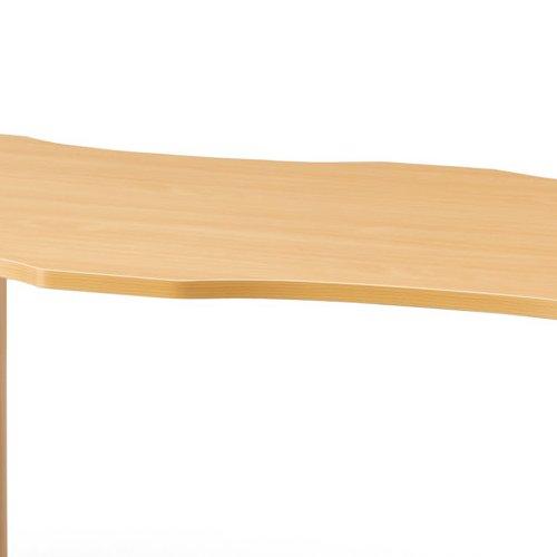 介護テーブル アイコ NSTテーブル 凹み形天板 NST-1612 W1600×D1200×H700(mm)商品画像5