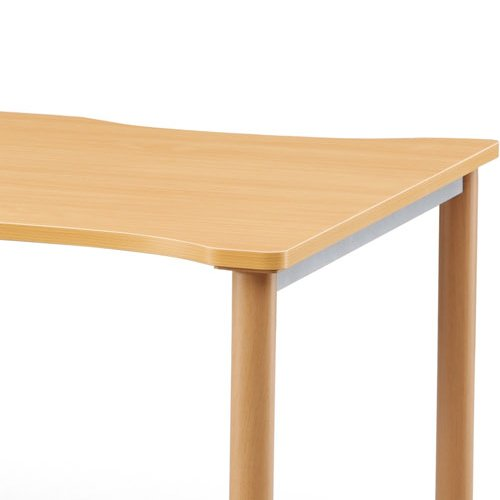 介護テーブル NSTテーブル 凹み形天板 NST-1612 W1600×D1200×H700(mm)商品画像6