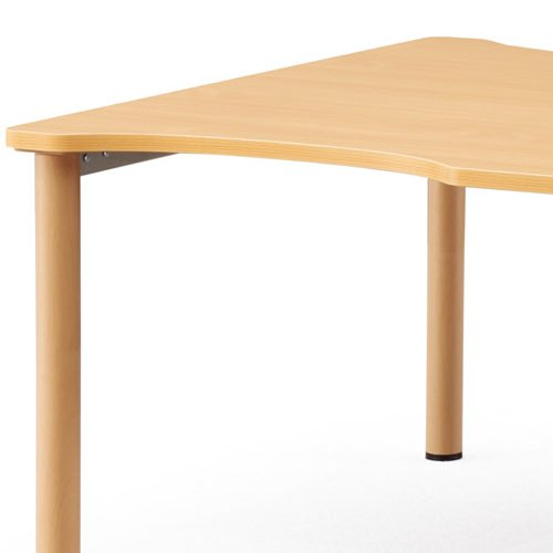 【廃番】介護テーブル NSTテーブル 凹み形天板 NST-2412 W2400×D1200×H700(mm)商品画像5