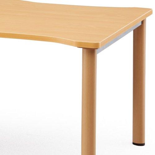 介護テーブル NSTテーブル 凹み形天板 NST-2412 W2400×D1200×H700(mm)商品画像7